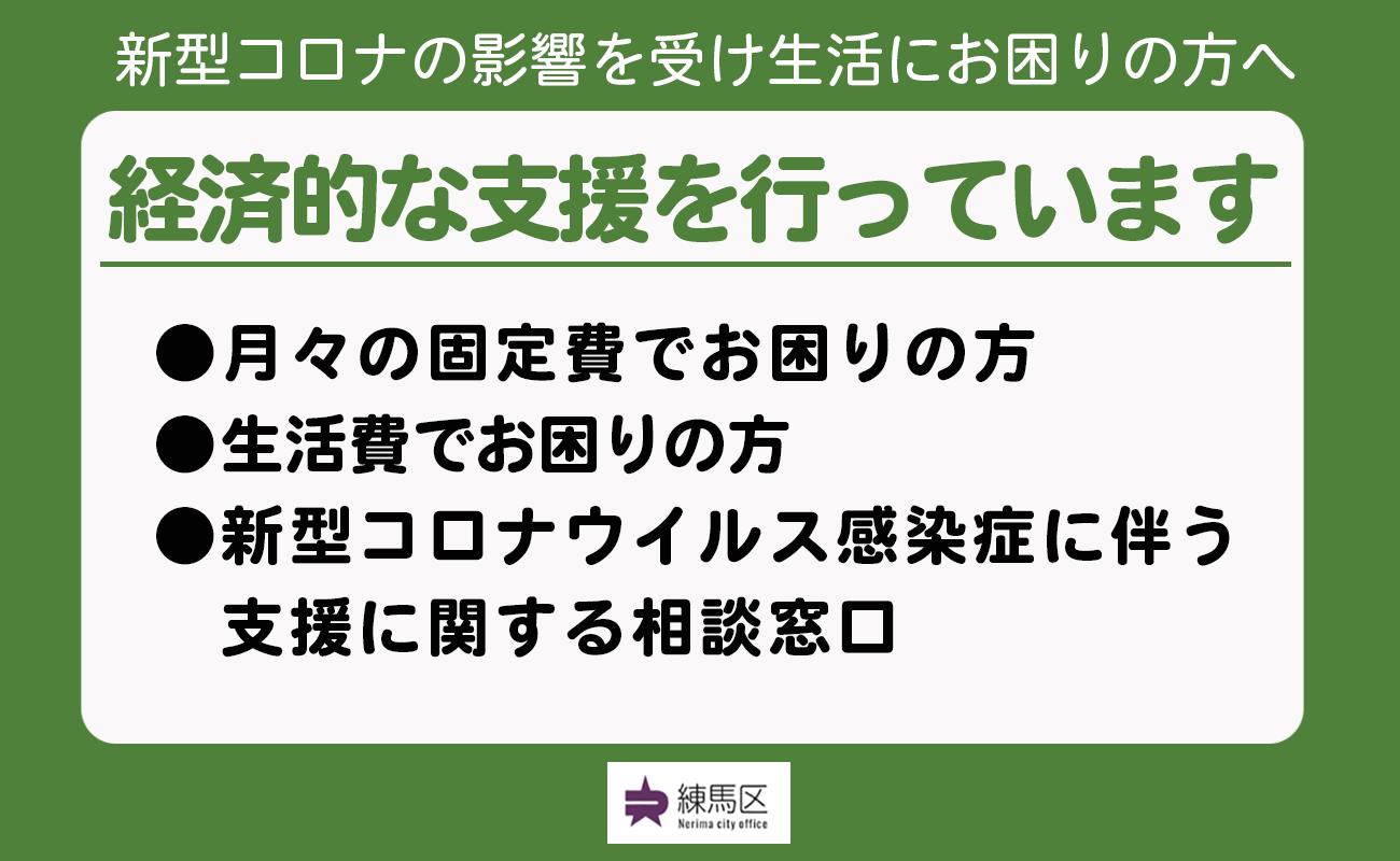 区 万 練馬 円 給付 10 練馬区 10万円給付(特別定額給付金)申請方法やスケジュール(いつまで?)など